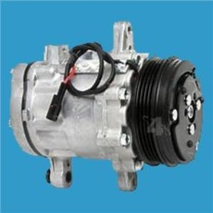 AC Compressor For Chevy Geo Metro Suzuki Swift (1year Warranty) New 68573