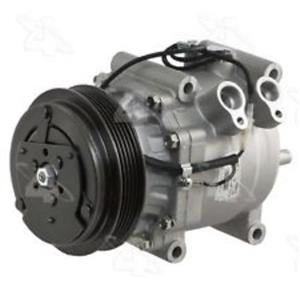 AC Compressor Fits 2000-2006 Honda Insight (1 Year Warranty) New 97553