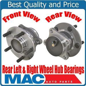 (2) 100% New Rear Wheel Bearing and Hub Assembly for 09-13 Mazda 6