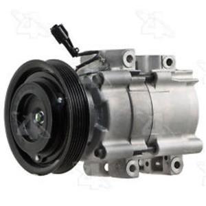 AC Compressor For 2001-2006 Hyundai Santa Fe (1 year Warranty) New 57183