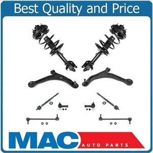 Front Struts Lower Control Arms Tie Rods & Links Fits Honda Odyssey 2002-2004