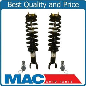 06-08 Ram 1500 4X4 L & R FRONT Quick Spring Strut and Mount Lower Ball Joints 4P