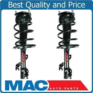 07-11 Camry V6 3.5L Left & Right FRONT Complete Coil Spring Strut and Mount