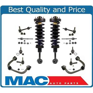 Fits 04-08 F150 4 Wheel Drive Front Quick Spring Strut and Mount Ck Info 12Pc