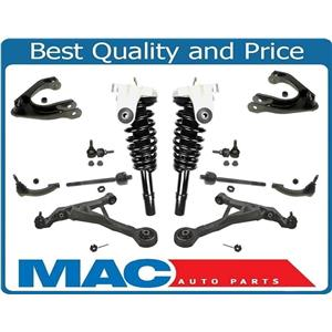 Front Complete Struts Mount Tie Rods Control Arms Links for Stratus Breeze 12pc