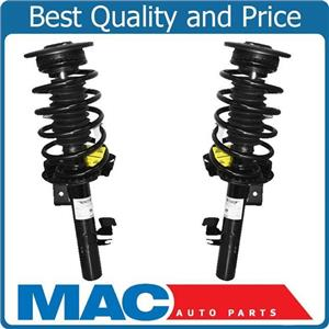 Front Complete Quick Coil Spring Strut Assembly Set Pair for 2007-2013 Volvo S80