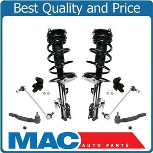 Front Complete Struts Tie Rods Ball Joints Links Fits 04-06 Sienna 7 Passenger