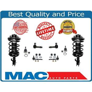 Front Quick Spring Strut And Tie Rods Ball Joints KIT Fits 95-99 Maxima 8PC