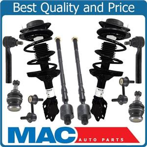Coil Spring Strut Ball Joints Sway Bar Links Kit fits For 05-09 Subaru Legacy