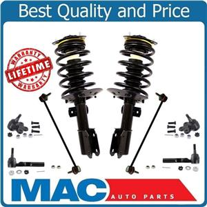 Front Struts Ball Joints Tie Rods for Buick Terraza Front Wheel Drive 05-07