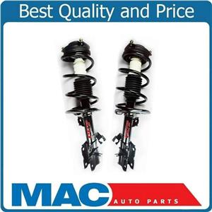 For 08-12 Rogue FWD Base Model (2) Front Coil Spring Strut and Mount 71L 71R 2Pc
