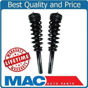 Fits Fusion 10-12 3.0L 10-11 Milan 3.0L (2) Front Quick Spring Strut and Mount