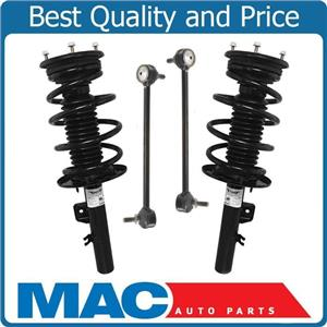Front Quick Coil Spring Strut Mount Sway Bar Links Kit For 08-09 Ford Taurus X