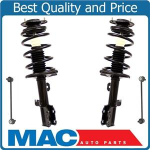 Ft Complete Quick Coil Spring Strut Mount Sway Bar Links For 03-08 Toyota Matrix