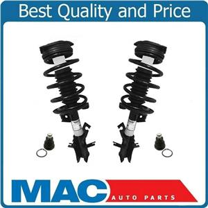 2 Front Coil Spring Strut Mount Set With Ball Joints Fits 07-12 Sentra 2.0L Auto
