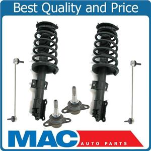 Front Quick Coil Spring Struts Lower Ball Joints Sway Bar Links For Volvo XC90