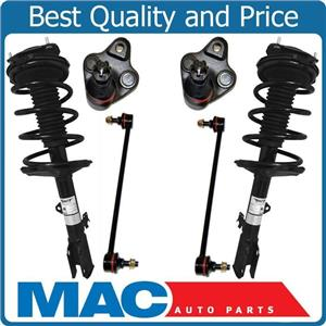 Quick Coil Spring Strut Mount Sway Bar Link Ball Joint For 01-05 Toyota Rav4 AWD
