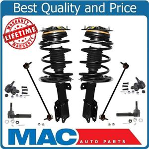 Quick Coil Spring Strut Mount Ball Joints Tie Rods Sway Bar Links For Grand Prix
