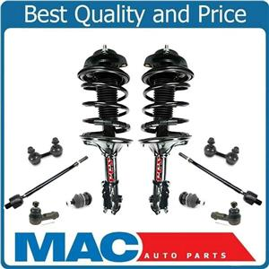 Front Complete Struts Links Tie Rods & Ball Joints For Hyundai Elantra 96-00