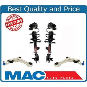 Front Complete Struts Lower Control Arms W/ Ball Joints For 09-14 Nissan Murano