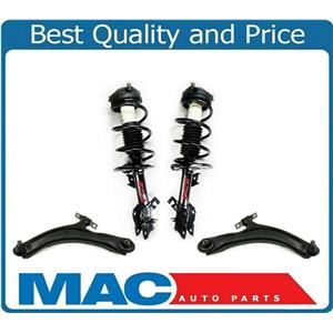 F Coil Spring Strut & Control Arms Bushings Ball Joint for 08-12 Rogue AWD 4pc