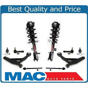 For 08-10 Sebring Convertible FWD 3.5L V6 Front Coil Spring Strut Con Arms 10pc