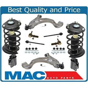 10 Pcs For Buick Park Avenue Front Complete Strut Control Arms Links Tie Rods