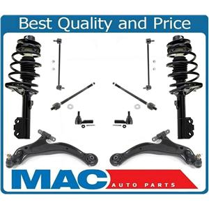 Front Struts Lower Control Arms Tie Rods & Links For AVALON 98-03 SOLARA 99-01