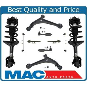 Front Complete Stuts Control Arms 10 Pcs Kit For Honda Odyssey 08-09 TOURING