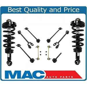 For 07-2012 Navigator Expedition Rear Complete Struts Trailing Arms & Links
