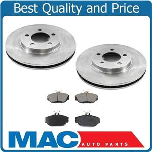 From pro date 08/03-95 to 98 Windstar 100% New Front Brake Rotors & Ceramic Pads