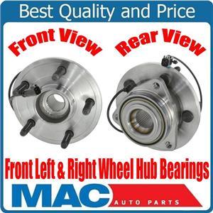 100% Brand New Front Left & Right Wheel Hub Bearings for Dodge Durango 06-09 NEW