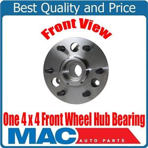 GM Trucks 4x4 4 Wheel Drive 6 Stud (1) 100% New Wheel Bearing and Hub Assembly