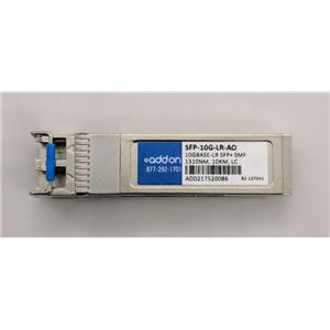 Add-On SFP-10G-LR-AO 10GB 1310nm 10KM LC 10GBASE-LR SFP+ SMF