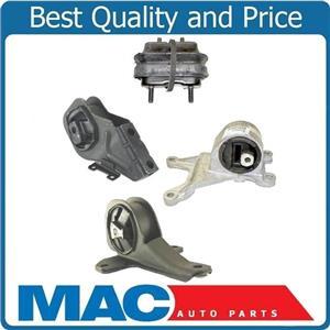 97 03 Chevrolet Malibu 3 1l 4 Pc Motor Mount Transmission Kit 100 New Mac Auto Parts