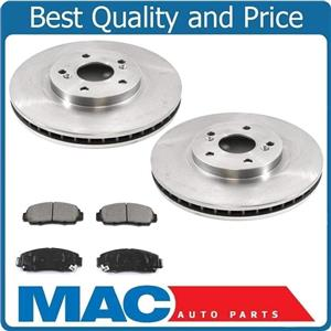 Front Brake Rotors High Temp Metallic Pads For Acura TL 99-03 Acura CL 01-03