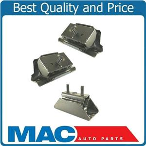 Engine Motor & Automatic Trans Mount 3Pc Kit For Ford Bronco 87-93 5.0L 5.8L