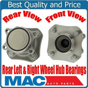 100% New  Rear Wheel Hub Bearings for Nissan Sentra WITHOUT ABS 2.0L 2007-2012