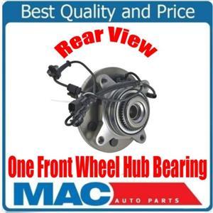 ONE 100% New Front Wheel Hub Bearing Ford F-150 Raptor 6.2L 4x4 SVT 2011-2014