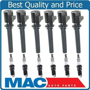 100% New Ignition Coils With Platinum Plugs for 04-06 Ford Escape V6 3.0L 12pc