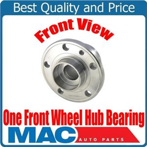 One 100% New Fits 10-17 Volvo XC60 / 08-16 XC70 FRONT (1) Wheel Bearing and Hub