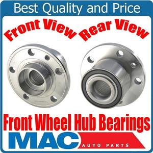 Fits 10-17 Volvo XC60 / 08-16 XC70 FRONT (2) Wheel Bearing and Hub  100% New