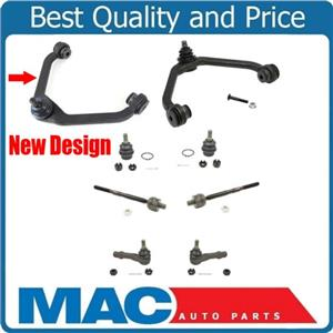 For 98-01 Ford Explorer New Style Control Arms Ball Joints and Tie Rods 8pc Kit