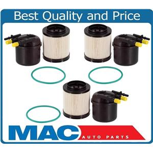 (3) New Diesel Fuel Filter for 17-18 Ford F650 F750 6.7L Turbo Diesel FD4626 PTC