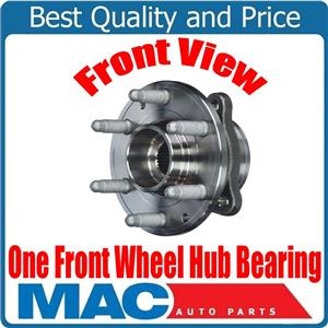 (1) 100% New FRONT Wheel Hub Bearing for 4 Wheel Drive 15-18 Colorado 4x4 FRONT