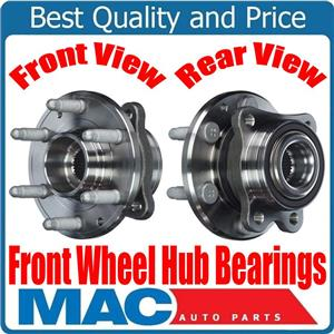 (2) 100% New FRONT Wheel Hub Bearing for 4 Wheel Drive 15-18 Colorado 4x4 FRONT
