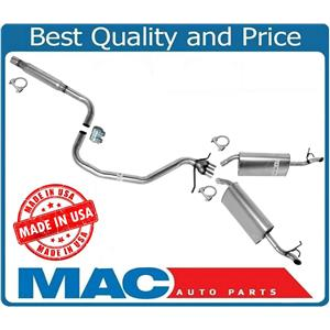 Brand New Exhaust System With Dual Mufflers For 1996-1999 Cadillac Deville