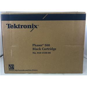 Brand New Tektronix Phaser 560 Black Toner Cartridge 016-1536-00