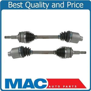 (2) 100% New CV Drive Axle Shafts for Saturn 01-05 LS300 Automatic Transmission