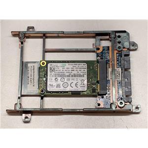"""Dell 128GB mSATA SSD Hynix SH920 HFS128G3AMNB WTTD3 w/ 3.5"""" Adapter"""